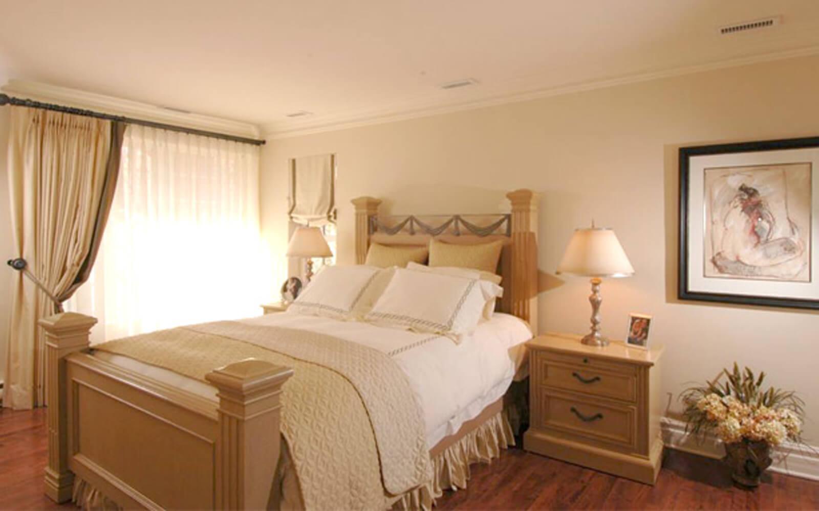 décoration d'intérieur chambre beige