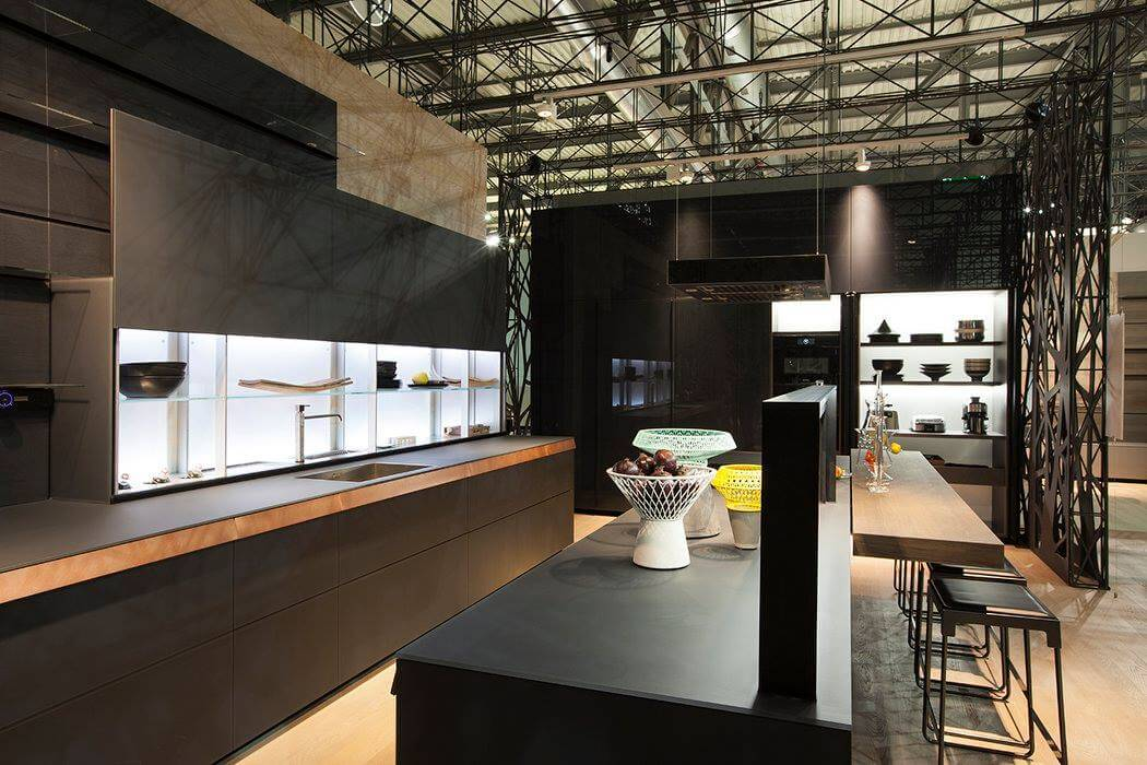 tendances cuisine eurocucina 2016 milan italie. Black Bedroom Furniture Sets. Home Design Ideas