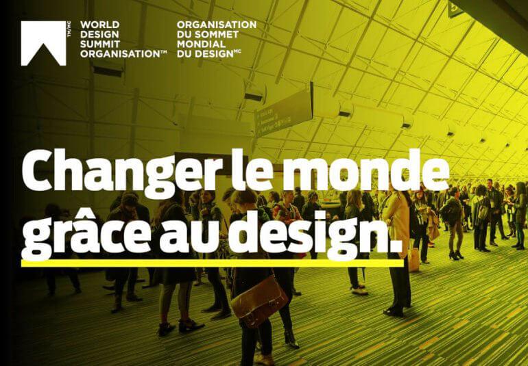 Sommet Mondial du Design : Changer le monde grâce au design