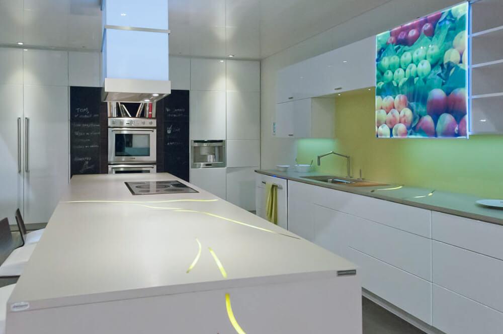 Exemple de design de cuisine le jour