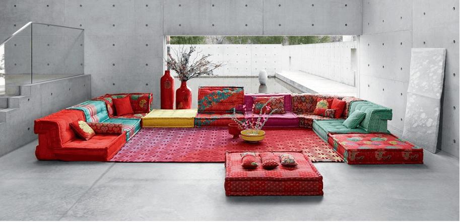 Roche Bobois et l'art contemporain: des artistes au service du design