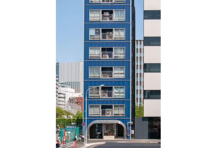 Design architecture : Immeuble étroit à Tokyo.
