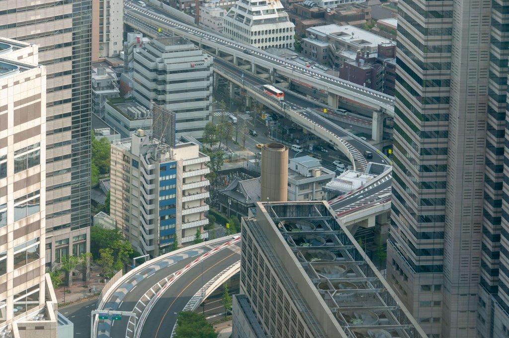 autoroute urbaine à Tokyo