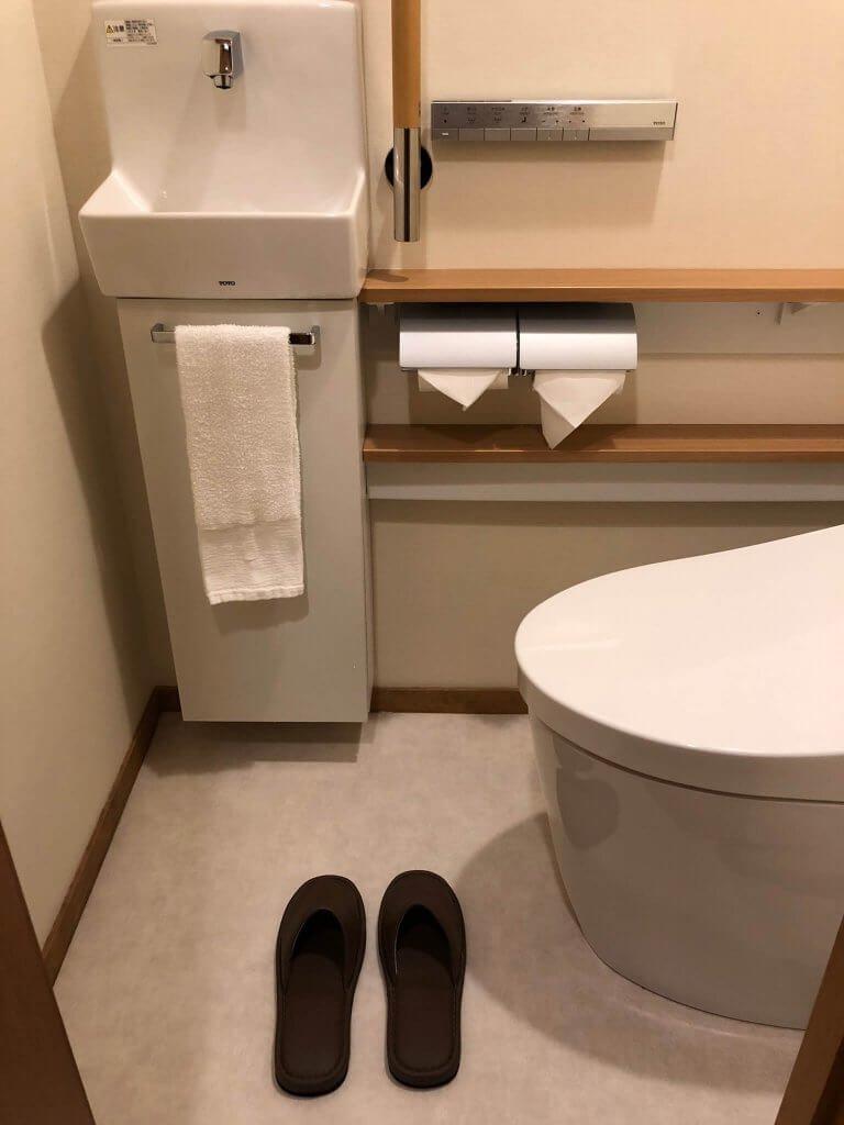 Design des toilettes privées au Japon