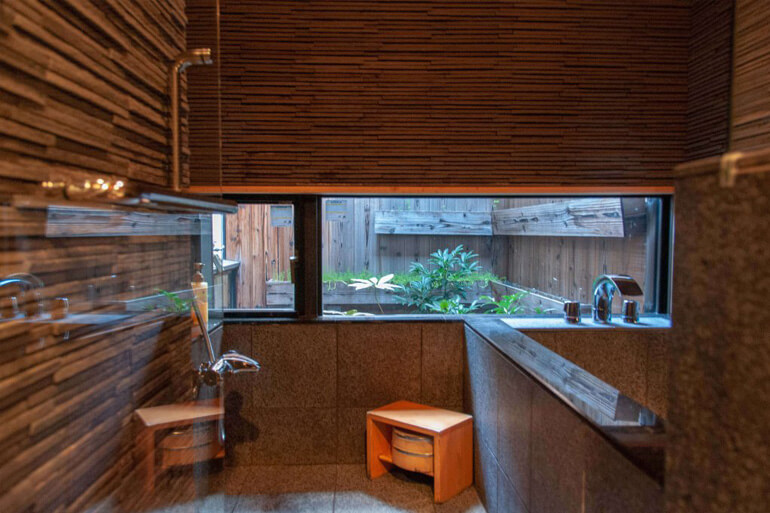 Design salle de bain dans une mashiya