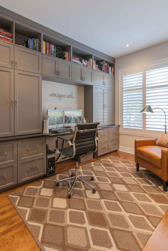 Design d'intérieur : Bureau à la maison pour le télétravail