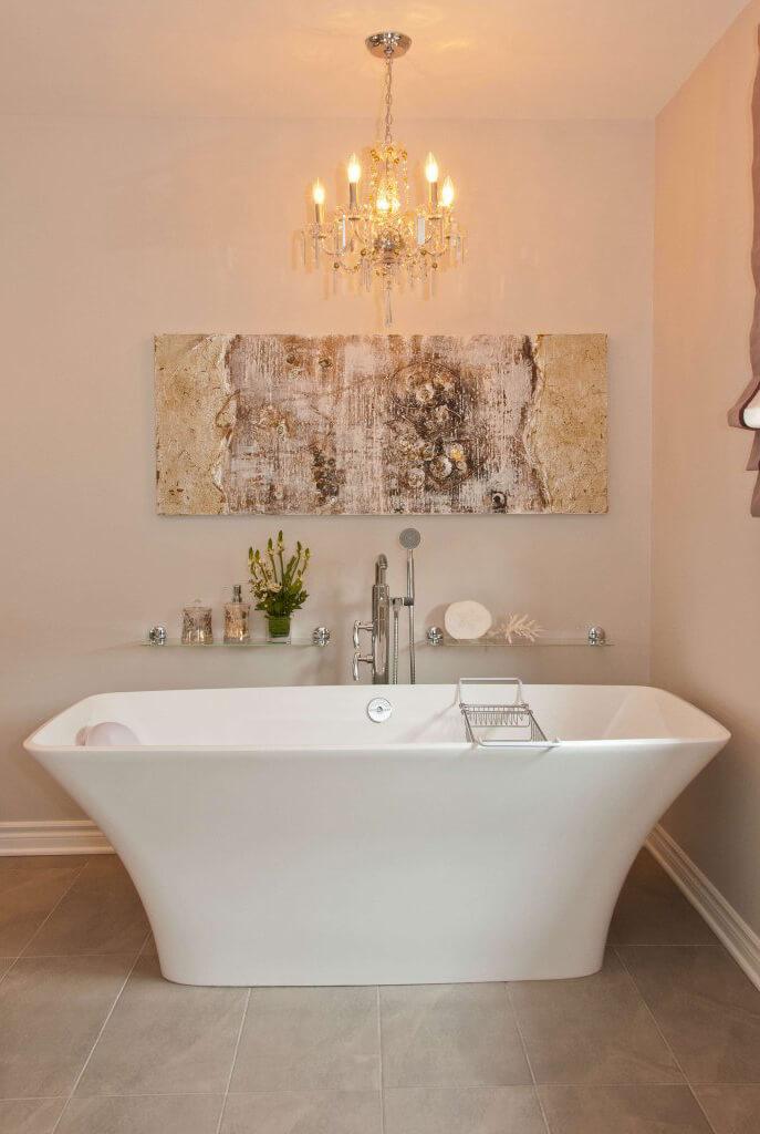 Design d'intérieur : Salle de bain pour relaxer